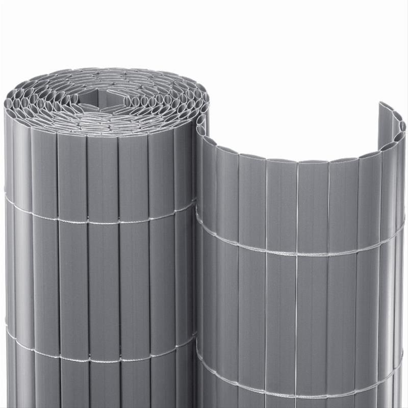 Sichtschutzmatte PVC Noor 0,9x3m silber Bild 1
