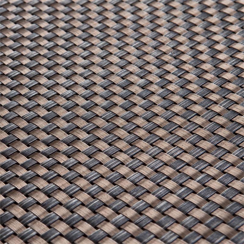 Sichtschutzzaun / Balkonblende exklusiv Rattan Noor 90x300cm kupfer Bild 2