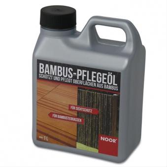 Bambus Pflegeöl Wetterschutzöl Noor 1L Bild 1
