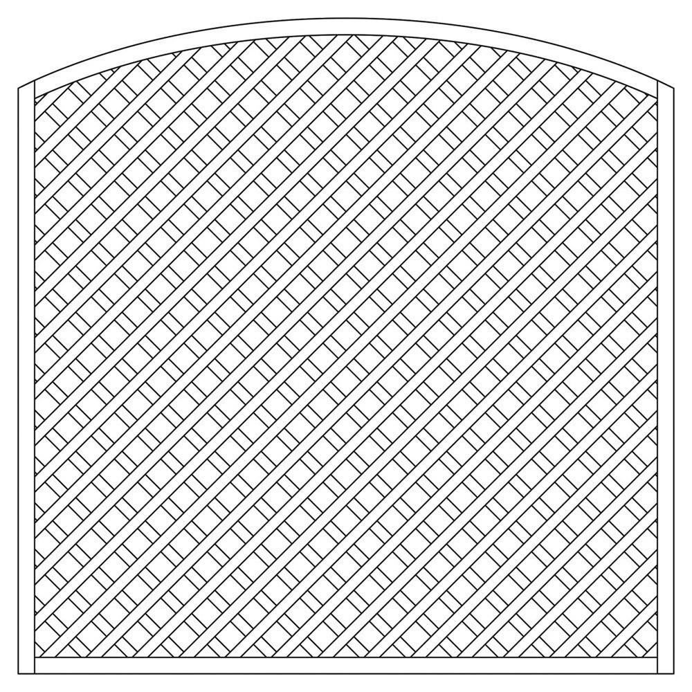 rankzaun rankgitter trennspalier 6x6 bogen 180x180 160cm bei. Black Bedroom Furniture Sets. Home Design Ideas