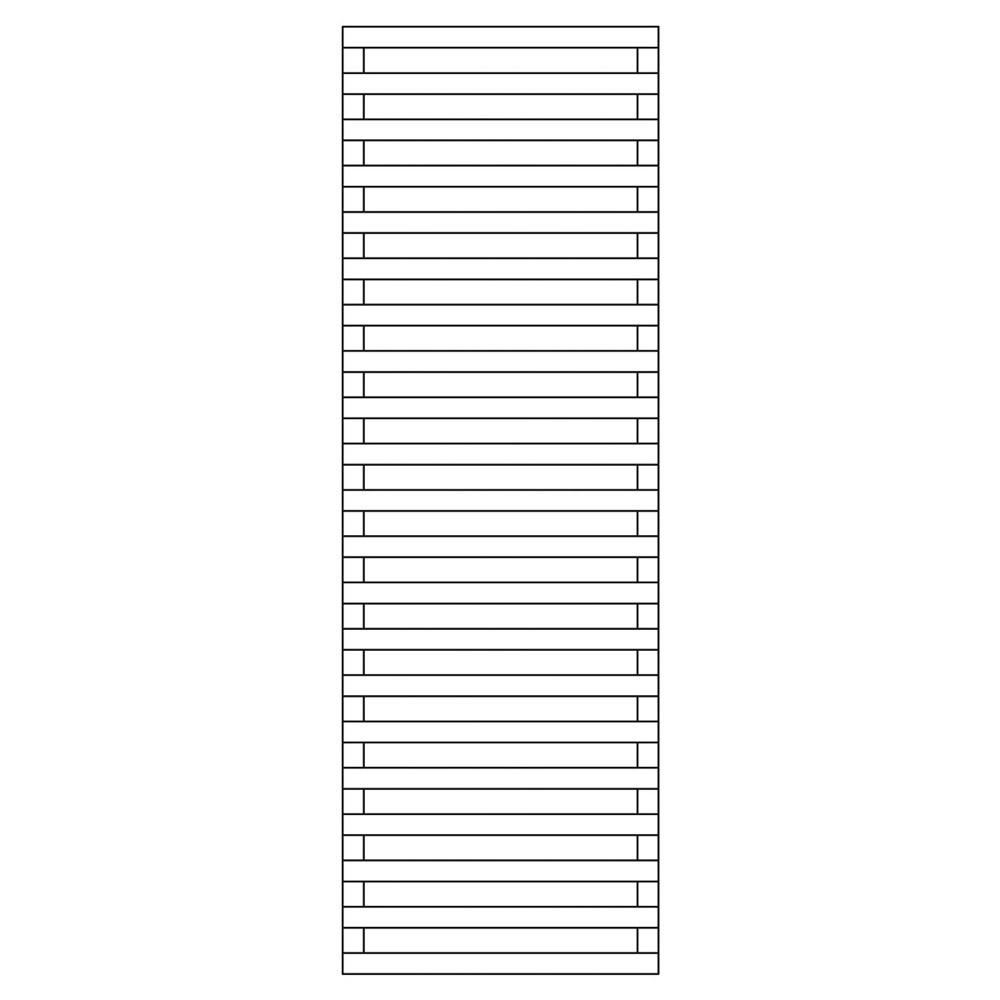 Rankzaun / Rankgitter / Sichtschutzzaun Rebo kdi 60x180cm Bild 1
