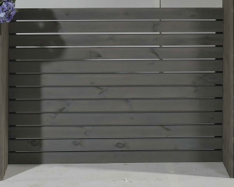 Sichtschutz Baden für Pflanzkubus Baden 130x95cm vintage-grau Bild 1