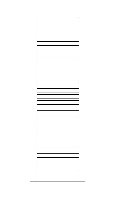 Rankgitter / Zaunelement Sina kdi braun 60x180cm Bild 1