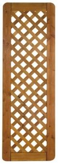 Sichtschutz / Zaun Sylt Zwischenstück Douglasie geölt 60 x 180 cm Bild 2