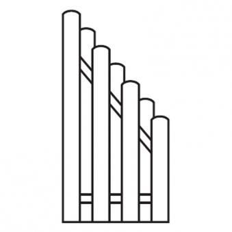 Sichtschutzzaun / Bohlenzaun Schrägelement Holz kdi 90x180/90cm