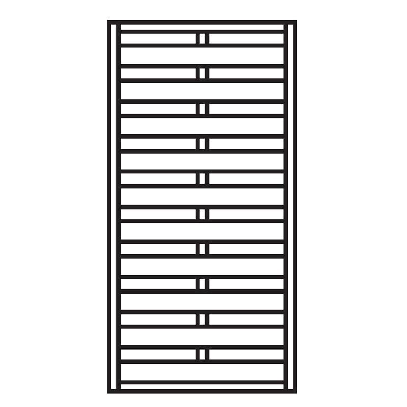 Sichtschutzzaun / Zaunelement Dichtzaun kdi 90x180cm Bild 1