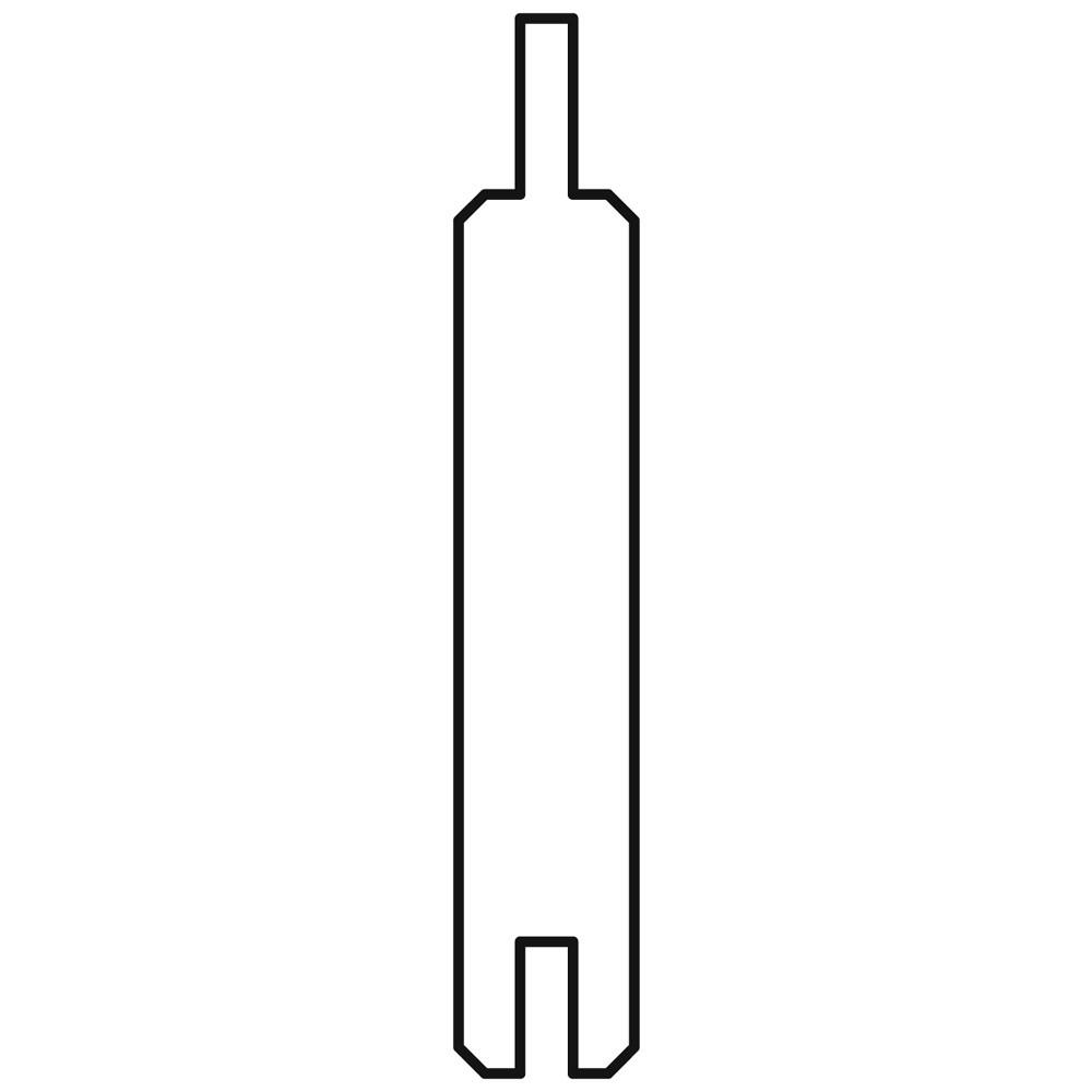 Sichtschutzzaun Gardo Füllprofilbretter Lärche 180x12cm 8 Stück Bild 1