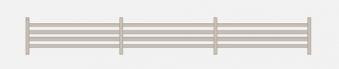 Sichtschutzzaun Rankelement Gardo Lärche 180x23cm Bild 1