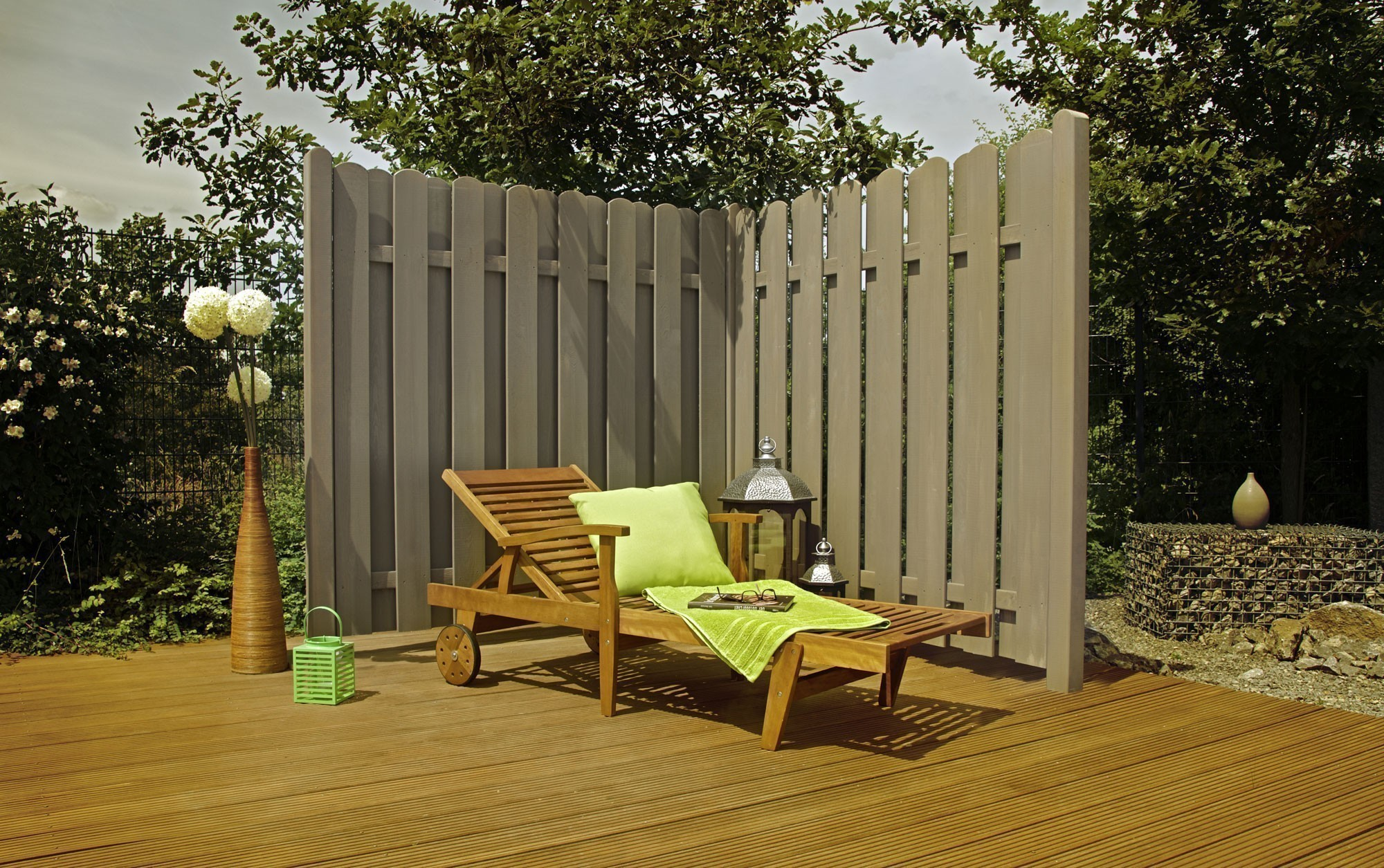 sichtschutzzaun tor kevin dimplex lasiert grey nature 90x180 160cm bei. Black Bedroom Furniture Sets. Home Design Ideas