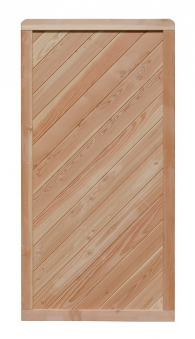 Sichtschutz Zaun Lisa Lärche Zaunelement 90x180cm