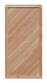 Sichtschutz Zaun Lisa Lärche Zaunelement 90x180cm Bild 1