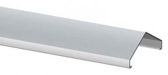 Design Aufsatz Alu für Sichtschutz / Zaun WEAVE Länge 180 cm Bild 1
