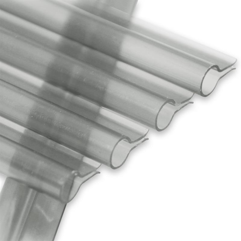 Klemmschiene Premium für Noor Zaunblende transparent 15 Stück Bild 1