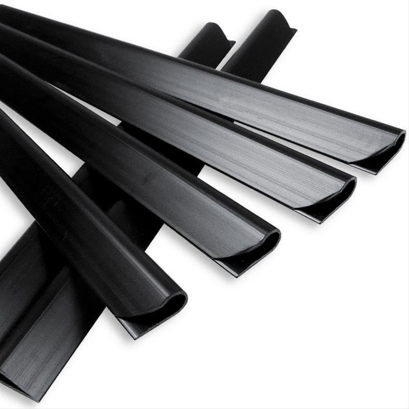 Klemmschienen für Noor Zaunblende schwarz 25 Stück Bild 1