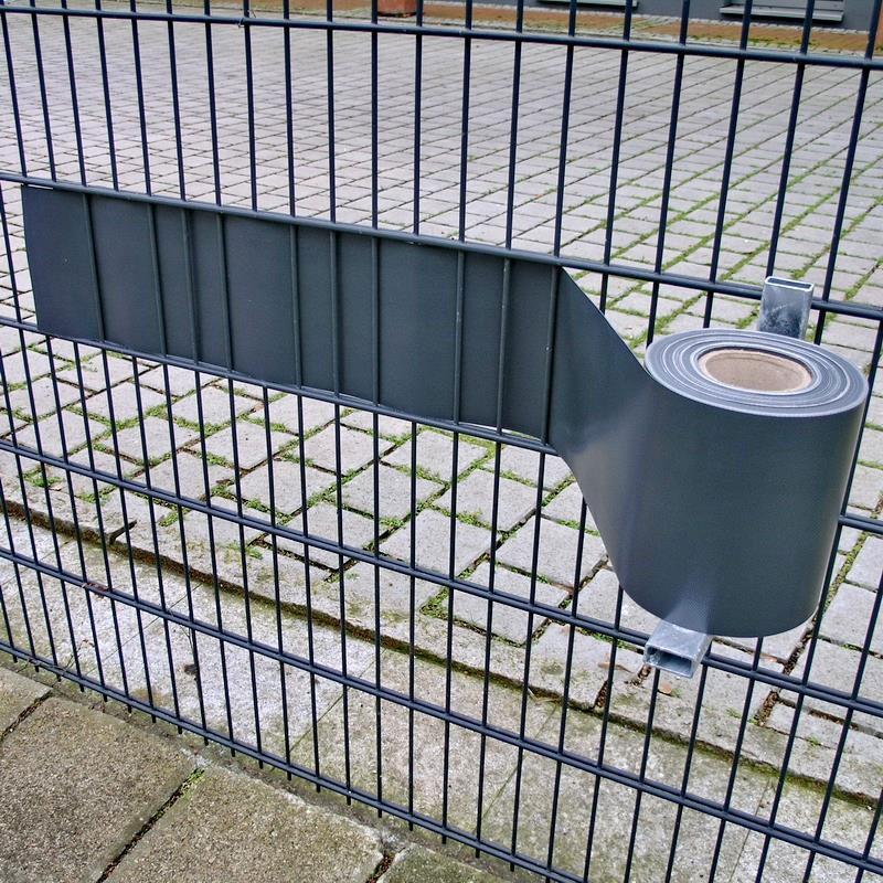 Montagehilfe für PVC Zaunblende Abroller Noor verzinkt Bild 2