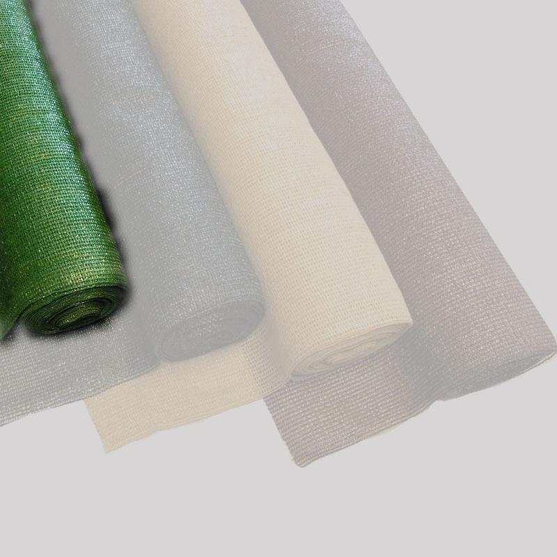 Sichtschutz / Schattiergewebe 100% Noor 2x10m grün Bild 1