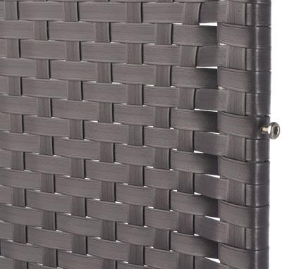 sichtschutz zaun screen graphit kunststoff geflecht. Black Bedroom Furniture Sets. Home Design Ideas
