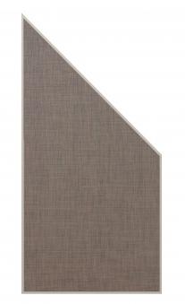 Sichtschutz / Zaun WEAVE LÜX bronze Webschicht 88x178/88cm