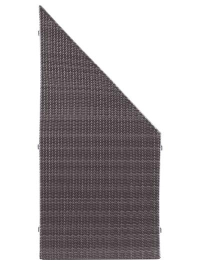 Sichtschutz / Zaun WEAVE anthrazit PE-Kunststoff Geflecht 88x178/88cm Bild 2