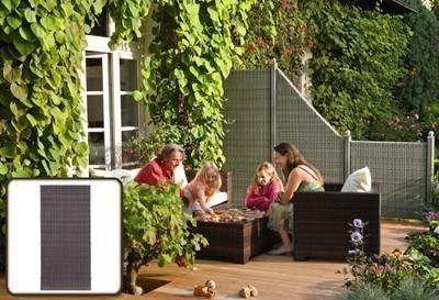 sichtschutz zaun weave anthrazit pe kunststoff geflecht. Black Bedroom Furniture Sets. Home Design Ideas