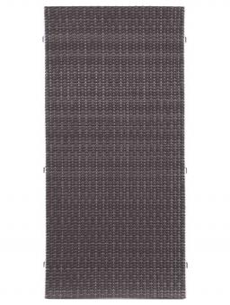 Sichtschutz / Zaun WEAVE anthrazit PE-Kunststoff Geflecht 88x178 cm Bild 2