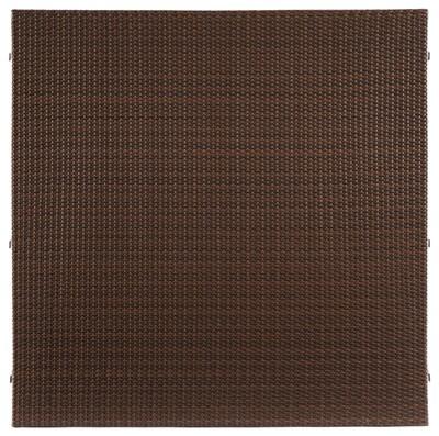 Sichtschutz / Zaun WEAVE mocca PE-Kunststoff Geflecht 178x178 cm Bild 2