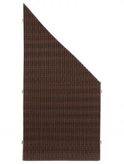 Sichtschutz / Zaun WEAVE mocca PE-Kunststoff Geflecht 88x178/88cm Bild 2