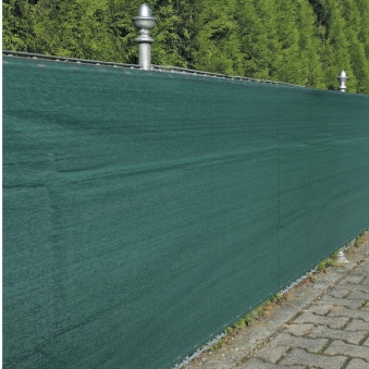 Sichtschutz / Zaunblende Noor 1,2x5m grün 180g/m² Bild 1