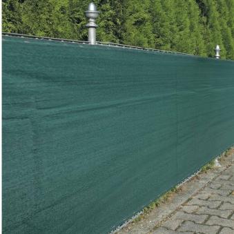 Sichtschutz / Zaunblende Noor 2x25m grün 250g/m² Bild 1