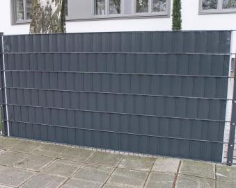 Sichtschutz / Zaunblende PVC Noor 0,19x35m anthrazit Bild 2