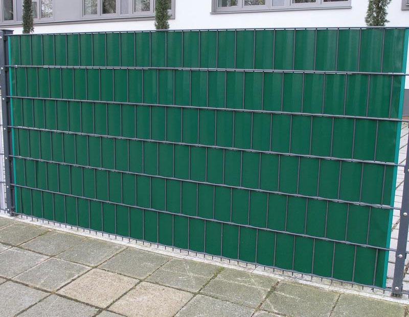 Sichtschutz / Zaunblende PVC Noor 0,19x35m grün Bild 2
