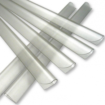 Sichtschutz / Zaunblende PVC Noor 0,19x35m hellgrau Bild 3