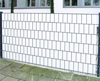 Sichtschutz / Zaunblende PVC Noor 0,19x35m weiß Bild 2