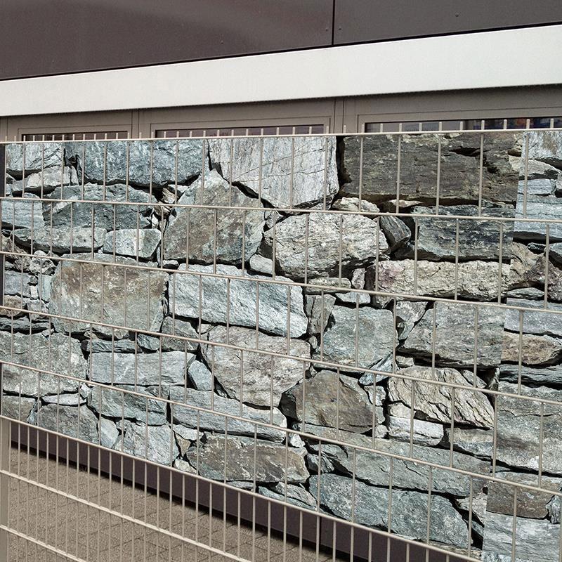 Sichtschutz / Zaunblende PVC Noor 0,19x35m bedruckt Granit