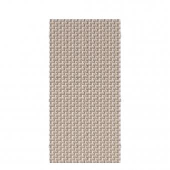Sichtschutz Zaunelement Traumgarten WEAVE Polyrattan gray 88x178cm Bild 1