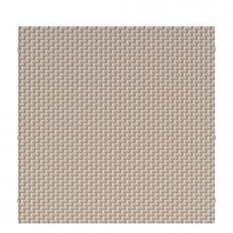 Sichtschutz Zaunelement Traumgarten WEAVE Polyrattan gray 178x178cm