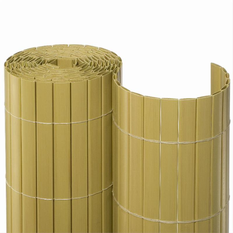 Sichtschutzmatte PVC Noor 1,2x3m Bambus Bild 1
