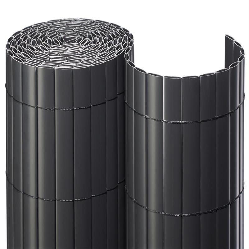Sichtschutzmatte PVC Noor 1,2x3m anthrazit Bild 1
