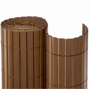 Sichtschutzmatte PVC Noor 1,2x3m braun Bild 1