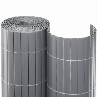 Sichtschutzmatte PVC Noor 1,2x3m silber Bild 1