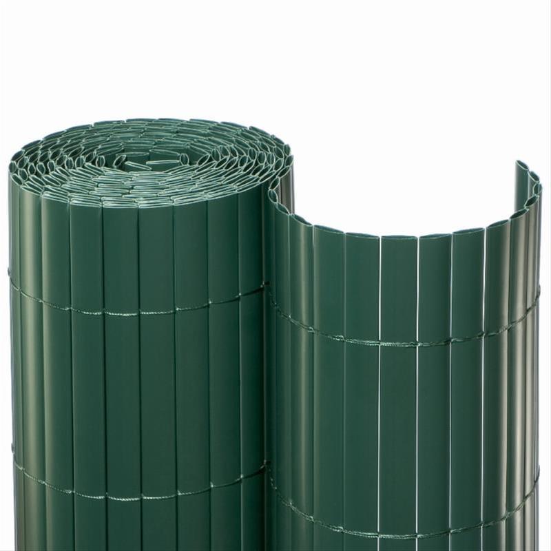 Sichtschutzmatte PVC Noor 1,6x10m grün Bild 1