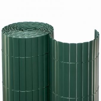 Sichtschutzmatte PVC Noor 1,8x10m grün Bild 1