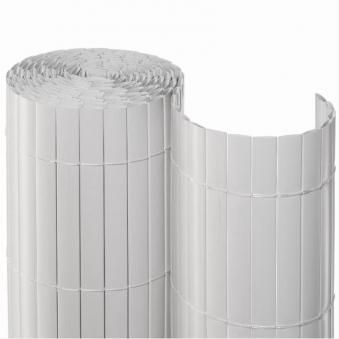Sichtschutzmatte PVC Noor 1x3m weiß Bild 1