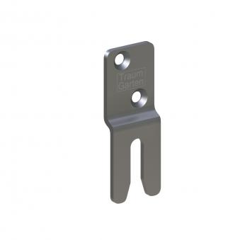 System Elementhalter für versteckte Montage Edelstahl 6-er Set Bild 1