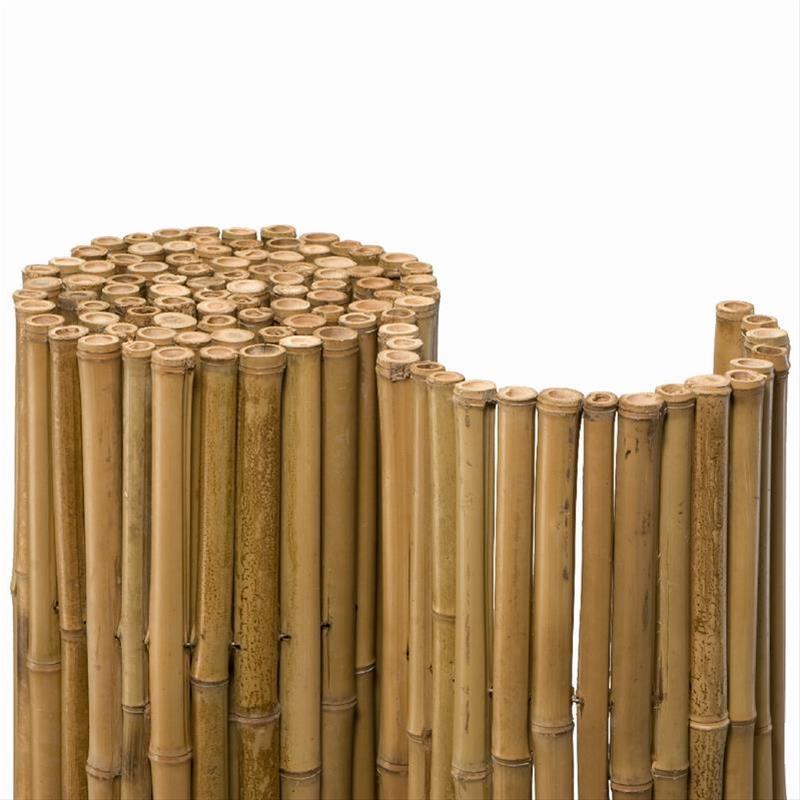 Sichtschutzzaun / Bambusmatte Deluxe Noor 0,9x2,5m natur Bild 1