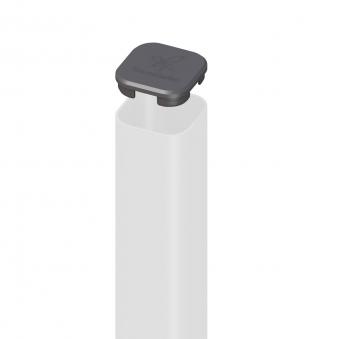 Ersatz Pfostenkappe TraumGarten Universal Kunststoff anthrazit Bild 1