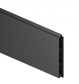 Sichtschutzzaun System Alu Classic Einzelprofil anthrazit 179cm Bild 1