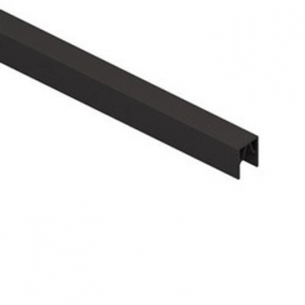 System Alu Profil-Abschlussleiste CLASSIC 173,5 cm anthrazit