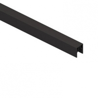 System Alu Profil-Abschlussleiste CLASSIC 233cm anthrazit
