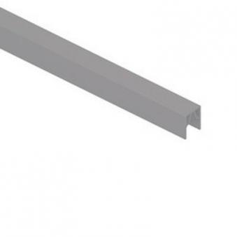 System Alu Profil-Abschlussleiste CLASSIC 173,5cm silber